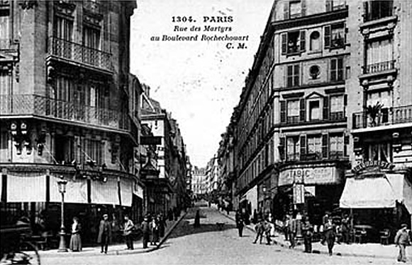 Un spot mecs 2muchisminimum for Miroir rue des martyrs
